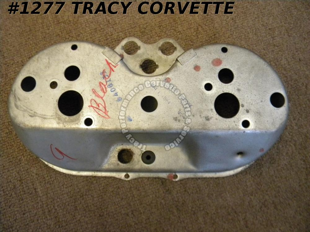 1964 Corvette Only Used 6408133 Speedo-Tach Dated Gauge Stamped Steel Housing 64
