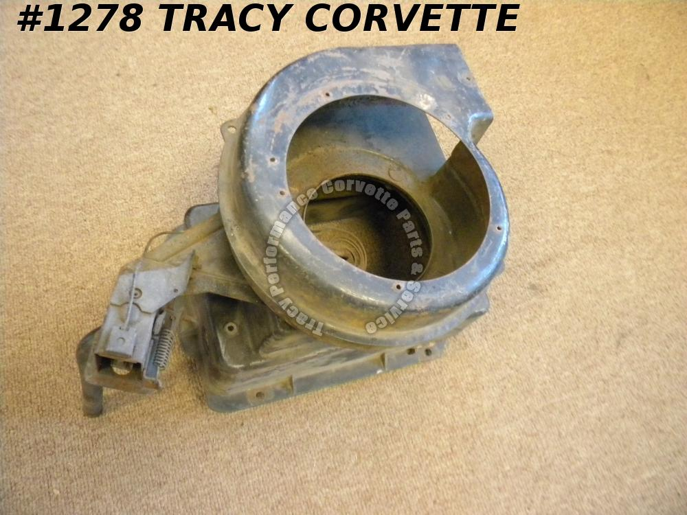 1958-1962 Corvette Used Original Heater Core Assembly 58 1959 59 1960 60 1961 62