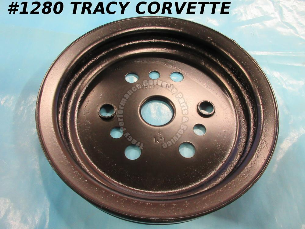 64-70 Corvette Refurbished 3850838 BG Crankshaft Balancer Pulley 65 66 67 68 69