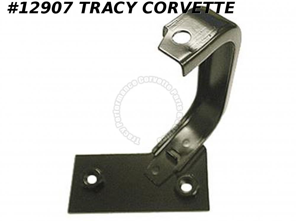 "1969-1976 Corvette Radiator Support Bracket Left Upper 26"" 27.5"" Brass 3952976"