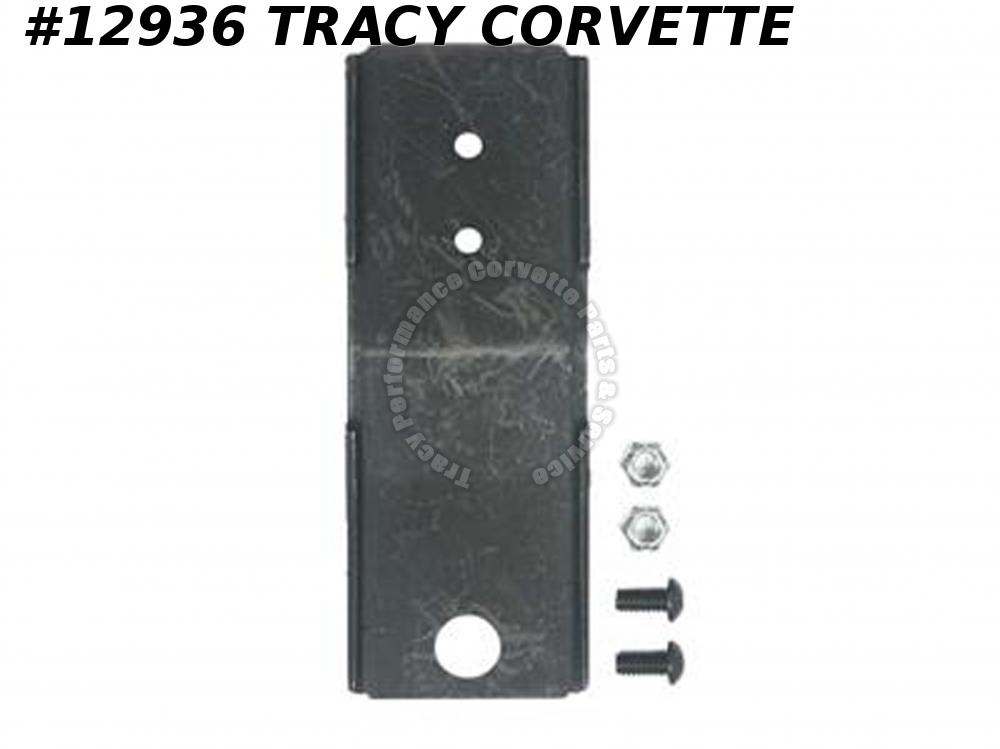 1968-1978 Corvette Seat Adjuster Mounting Bracket - Welds To Seat Frame