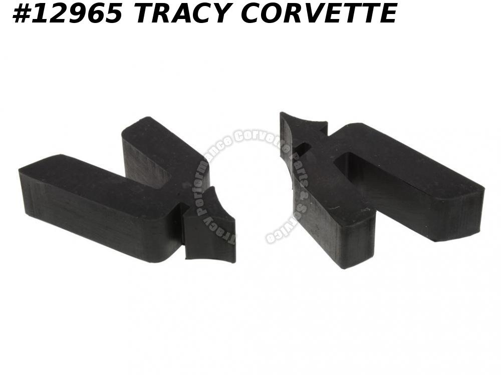 1989-1996 Corvette Roof Panel Storage Bracket Bumper