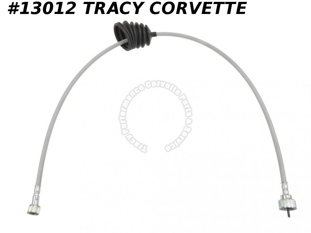1962 Corvette Tach Tachometer Cable With Gray Case 32 inch
