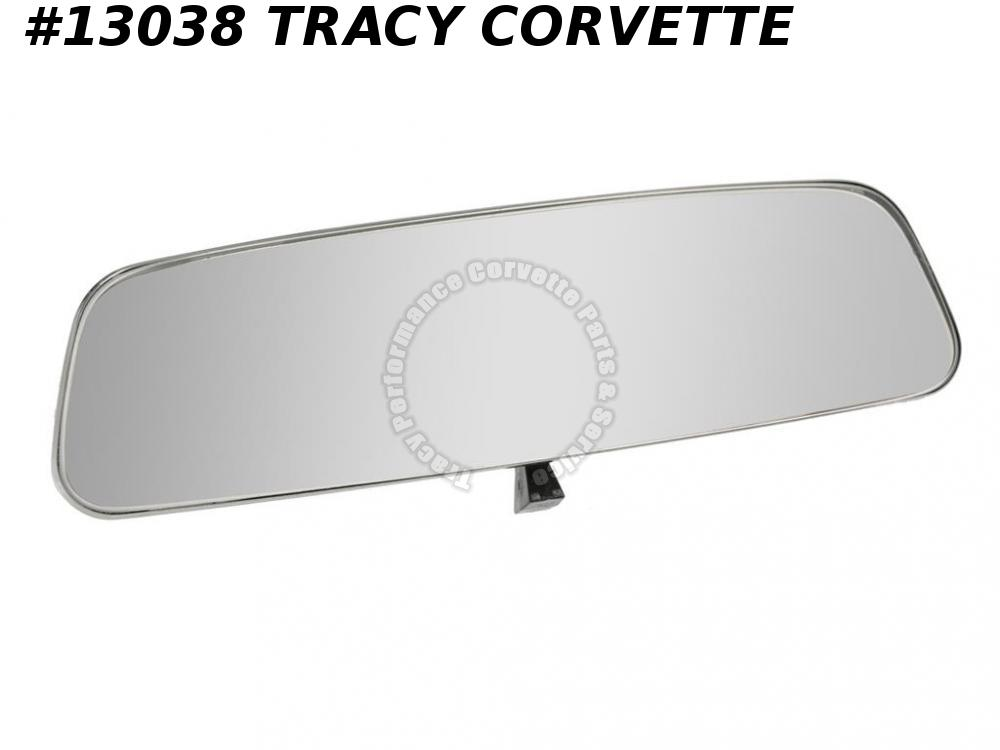 1965 1966 Corvette Mirror  Inside Rear View Day Night 8 inch 986600