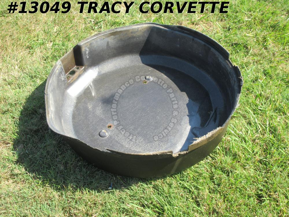 1963-67 Corvette Spare Tire Carrier TUB Cover Original Survivor NCRS Bloomington