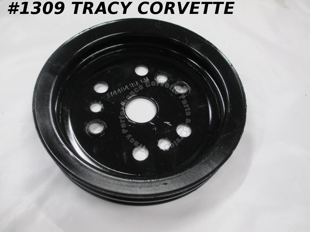 1963-1966 68 Corvette Refurbished Original 3744043 Crankshaft Power Strg Pulley