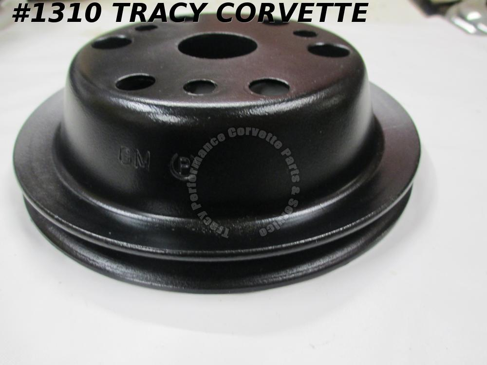 1967-1974 Corvette Refurbished Original 3751232 Crankshaft P/Strg Pulley