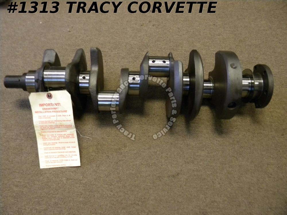 1968-1969 Chevy 327 3914672 Forged Big Journal L79 Crank Freshly Grind .010/.010