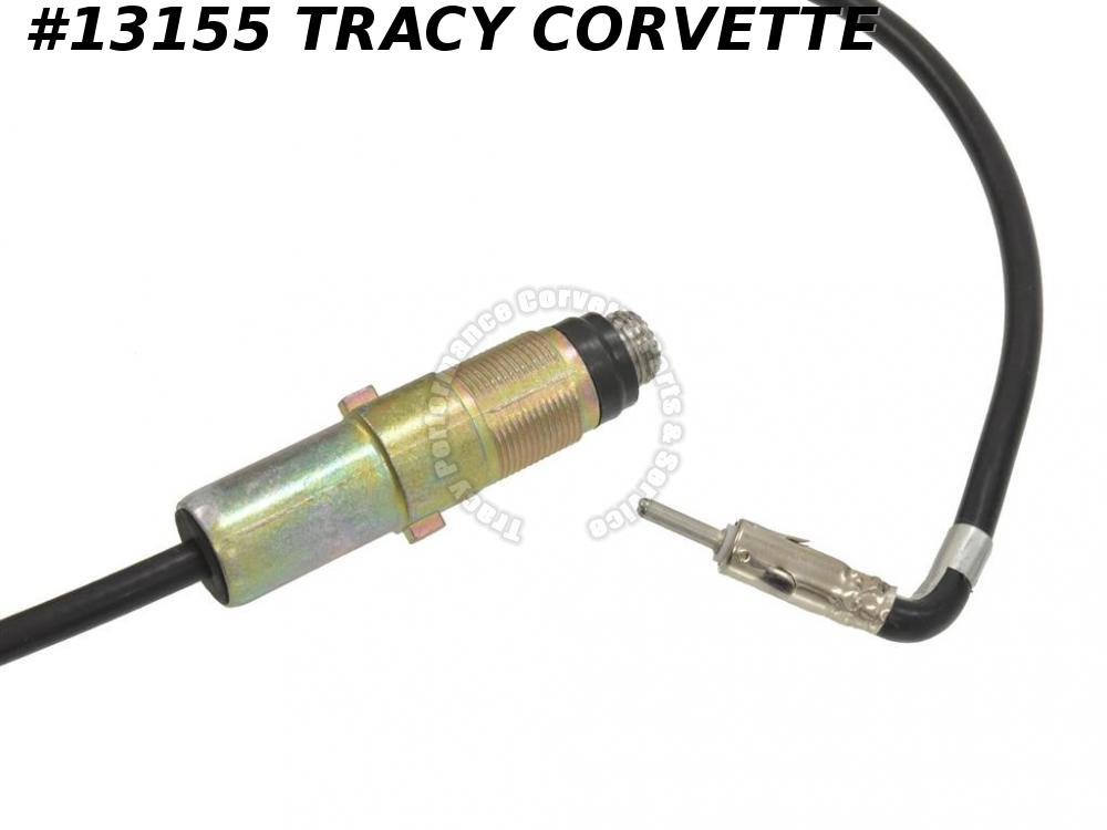 "1969-1974 C3 Corvette Antenna Cable 177"" Radio To Antenna 1970 1971 1972 1973"