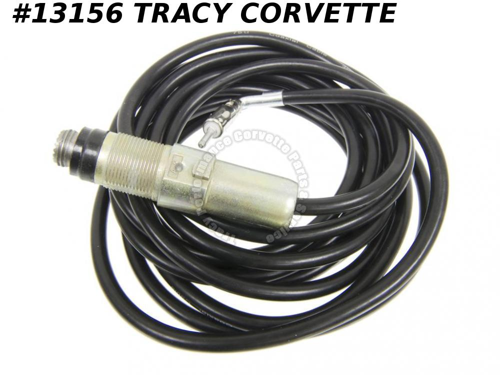 "1974-1982 Corvette Antenna Cable Exc Power 129"" 3996218 1975 1976 1977 1978 1979"