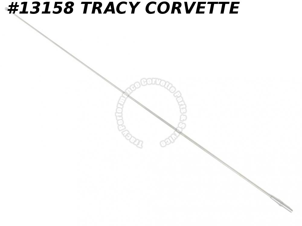 1969-1978 Corvette Antenna Mast Fixed Correct 370147 1970 1971 1972 1973 1974