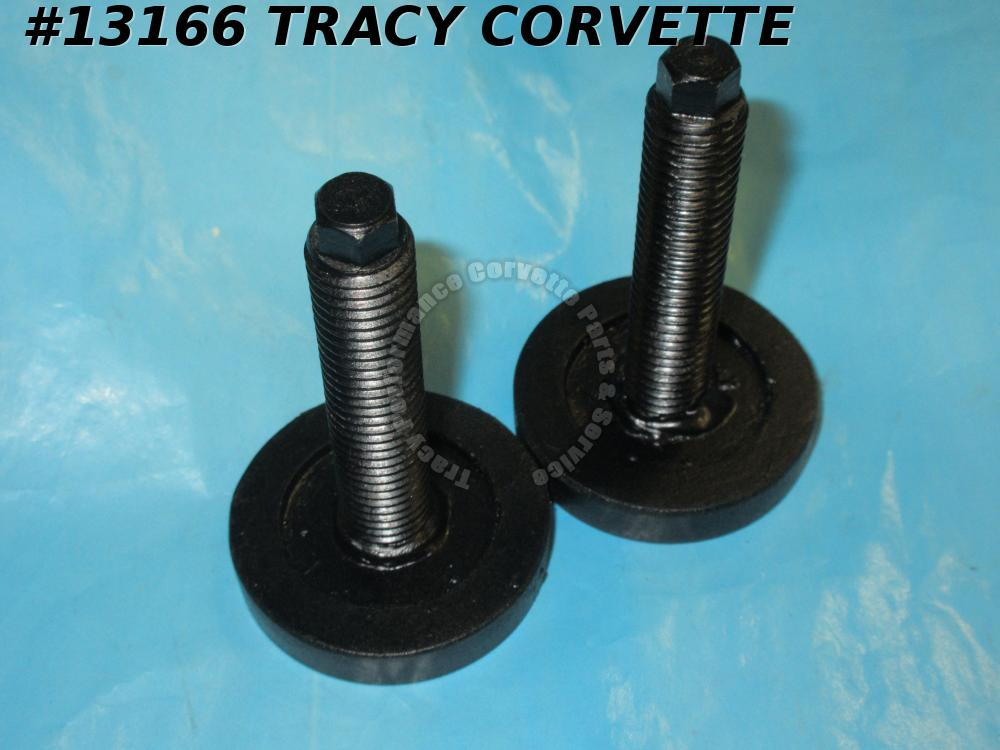 1997-2019 Corvette Stock Spring Adjuster Bolt Stop Pad: 97-19 Front/ 05-19 Rear