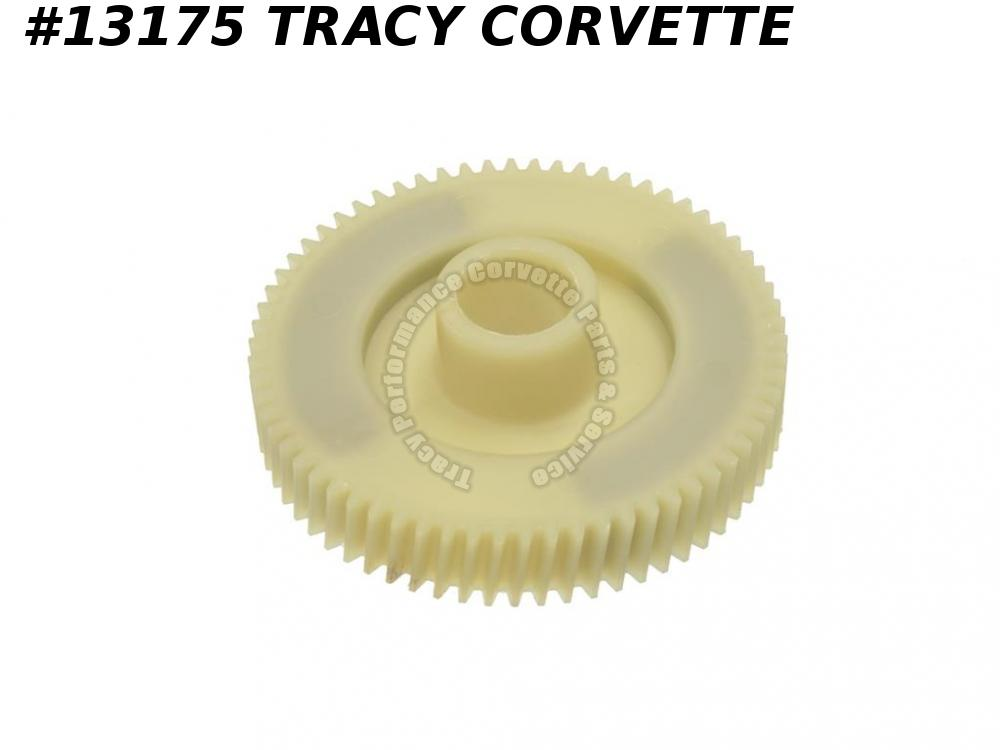 1984-1987 C4 Corvette Large Headlight Motor Gear - Nylon / Plastic 1985 1986