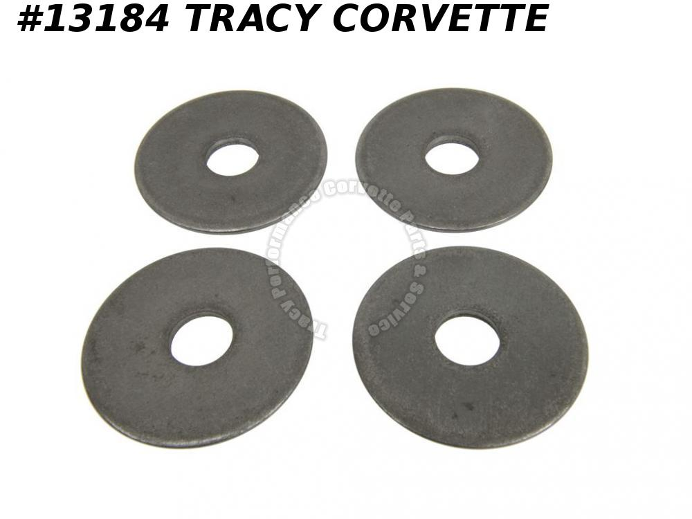 1963-1996 Corvette Rear Spring Mount Washer - Set Of 4 C2 C3 C4 1968 1967 1972