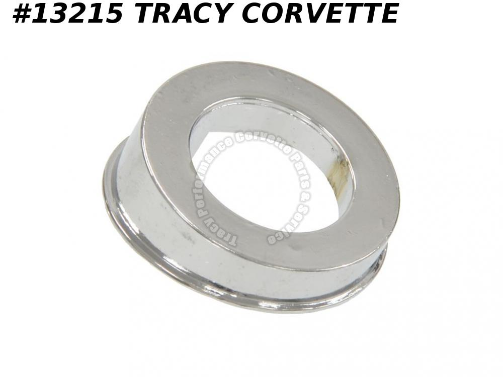 1963-1968 Corvette Antenna Mount Chrome Spacer 1964 1965 1966 1967 C2 C3 Vette