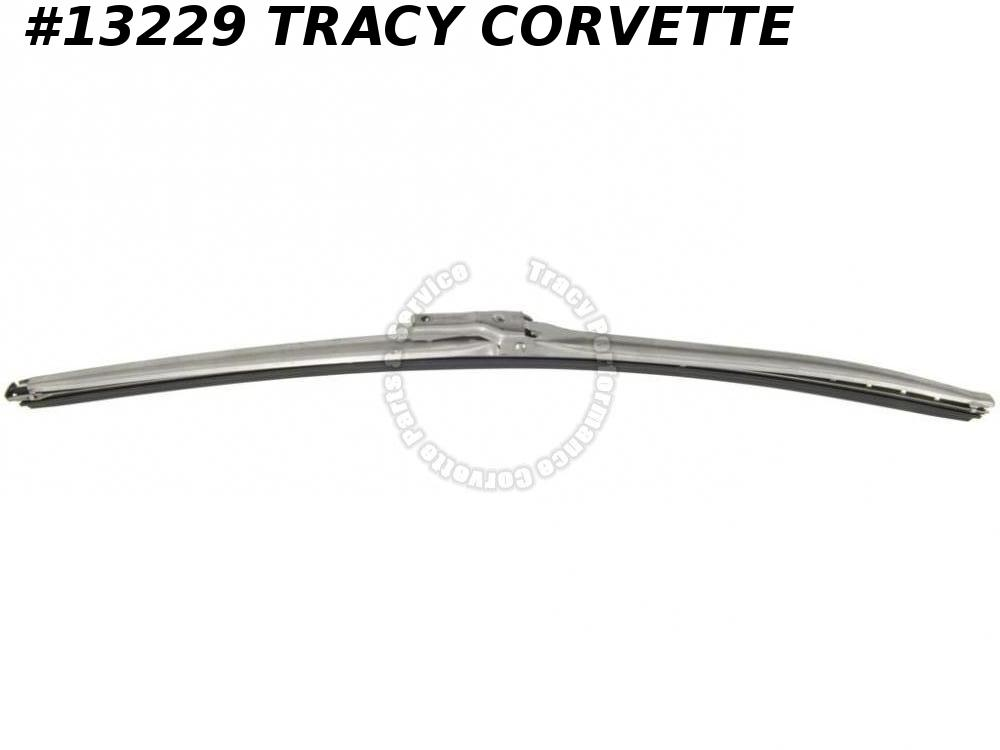 "1963-1967 Corvette Windshield Wiper Blade 15"" Dull Finish 1964 1965 1966 Replace"