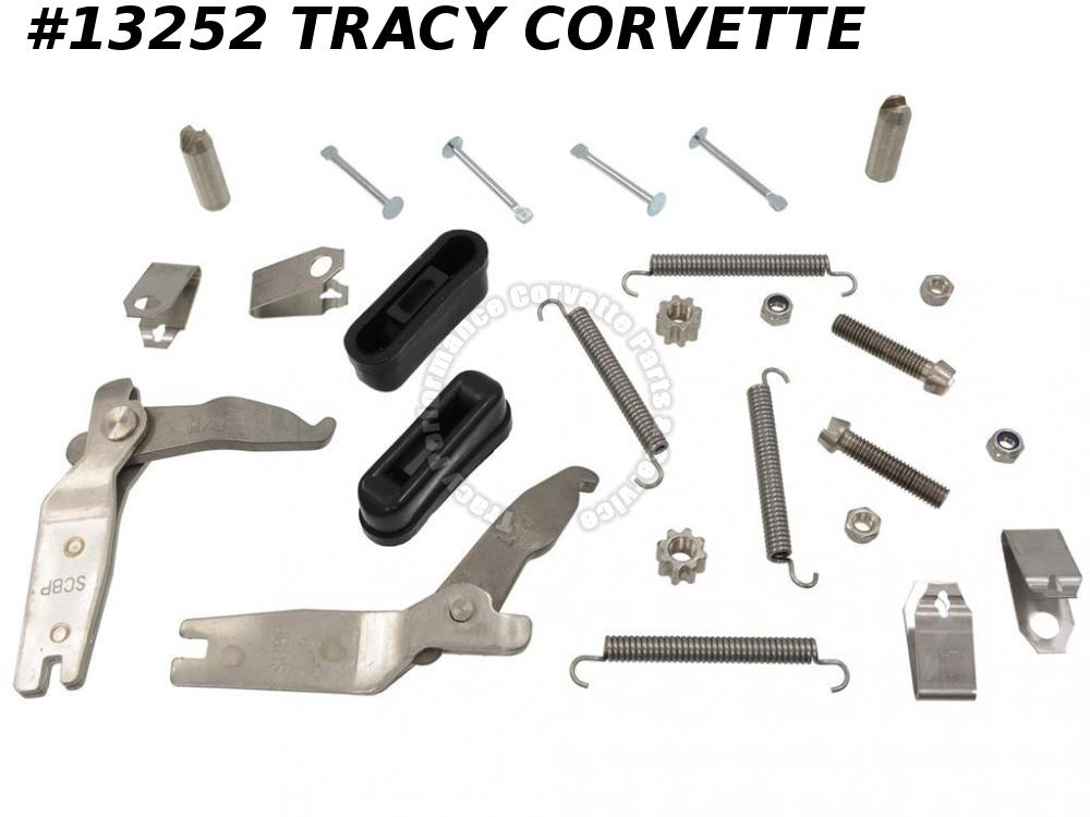 1984-1987 Corvette Parking Emergency Brake Hardware Kit Stainless SS 1985 1986