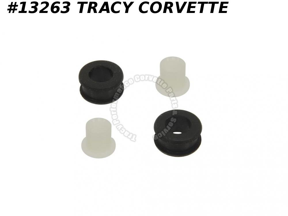 1955-1967 Corvette Accelerator Rod Bushing/ Sleeve With Insert - 2 Piece Set