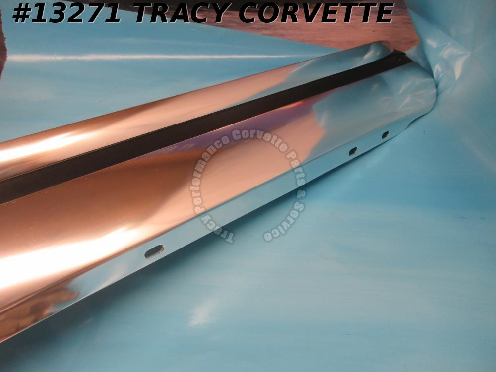 1965 Corvette Rocker Molding Panel   (a Pair)  3859798    Reproduction