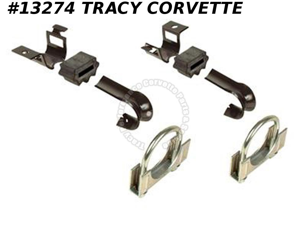 1978-1982 Corvette Muffler Exhaust Hanger Kit 1979 1980 1981