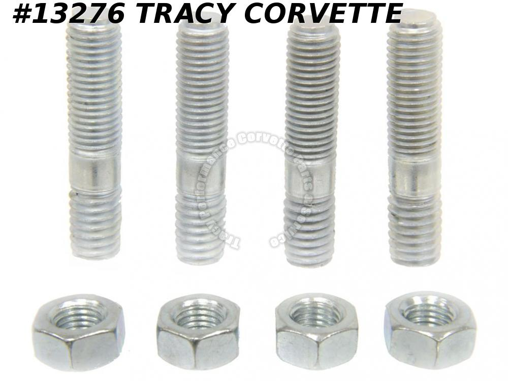 1956-1972 Chevrolet Corvette WCFB - AFB - Holley Carb Mounting Studs nut kit