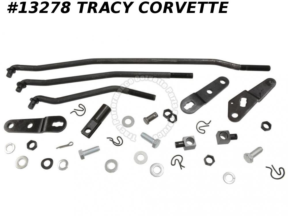 1969-1973 Corvette Shifter Linkage Kit 4 Speed 1970 1971 1972 C3
