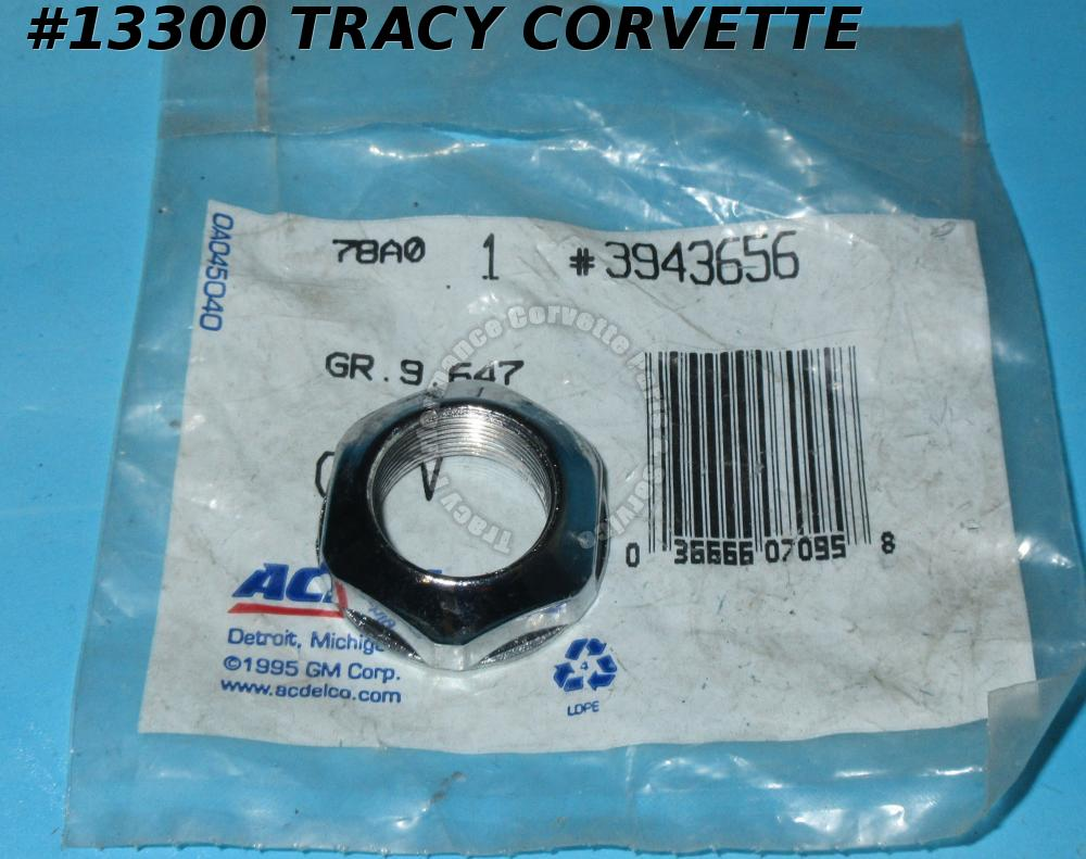 1969-1978 Corvette Fixed Mast Antenna Mount Nut ACDelco NOS GM#3943656