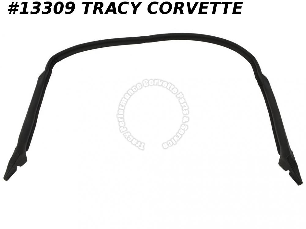 1984-1996 Corvette Coupe Rear Roof And Rear Pillar Weatherstrip - USA EPDM