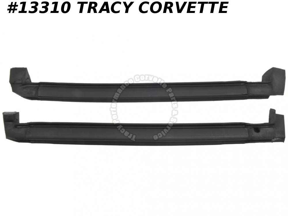 1984-1996 Corvette Roof Panel Side Weatherstrip Correct OEM Latex Type Material