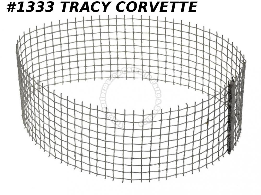 1967 1968 1969 Corvette New Repro 3902396 Air Cleaner Hood Screen with 427 L-88