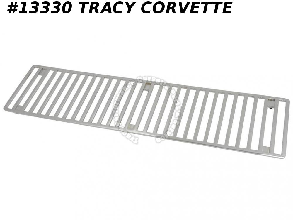 1973-1976 Corvette Chrome GM #331805 Hood Grille