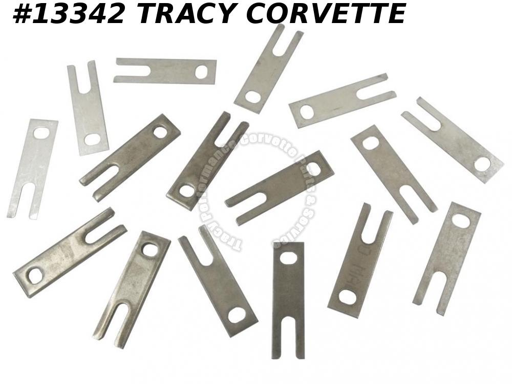 1971-1982 Corvette Rear Trailing Control Arm Shim Set Stainless Steel