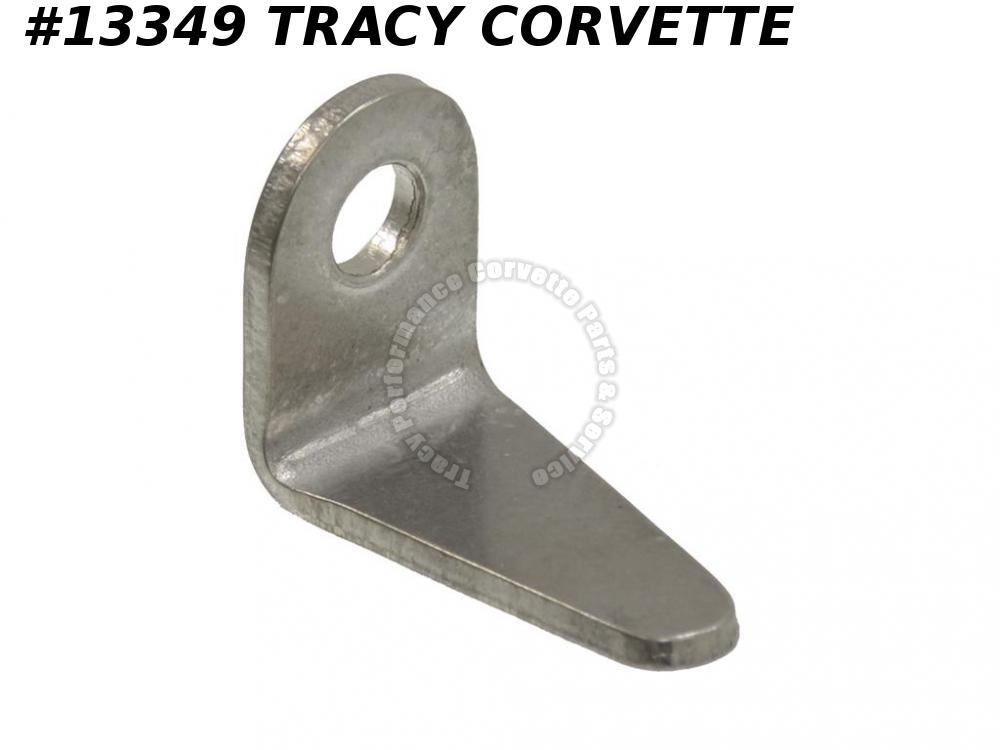1963-1967 Corvette Vent Window Hinge - Coupe On Vent Glass Frame Left