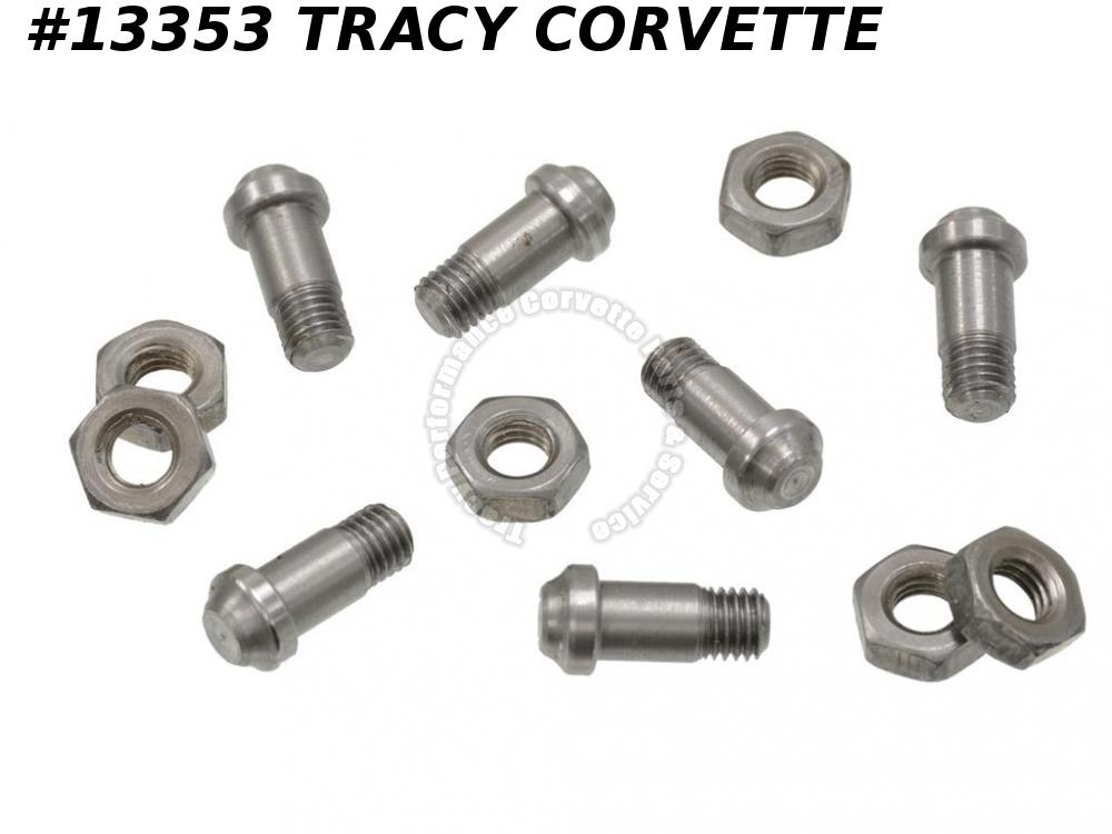 1963-1982 Corvette Ball Joint Rivet Threaded Type - Upper