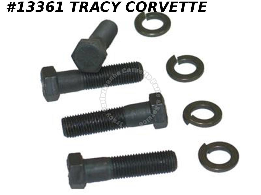 1963-1982 Corvette Front A-Arm / Control Arm Bolt Set - Lower - 4 Pieces