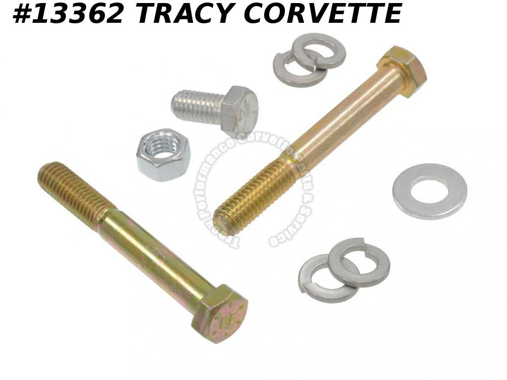 1963-1982 Corvette Power Steering Pump Bracket Bolt - Kit