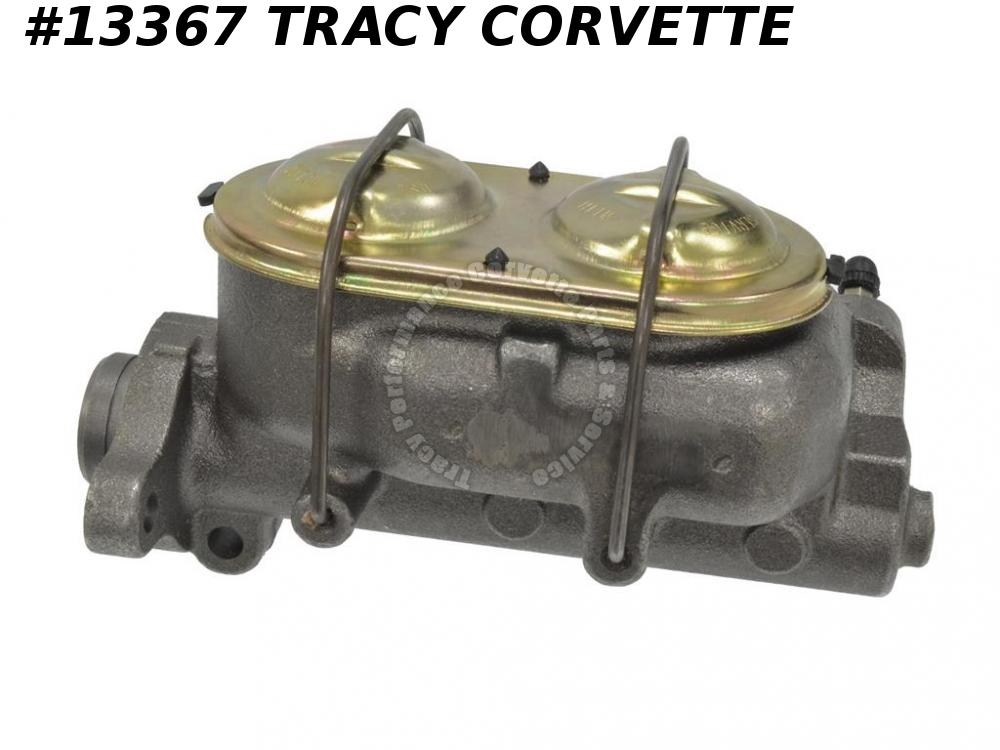 1967-1976 Corvette Master Cylinder - Replacement With Power Brakes
