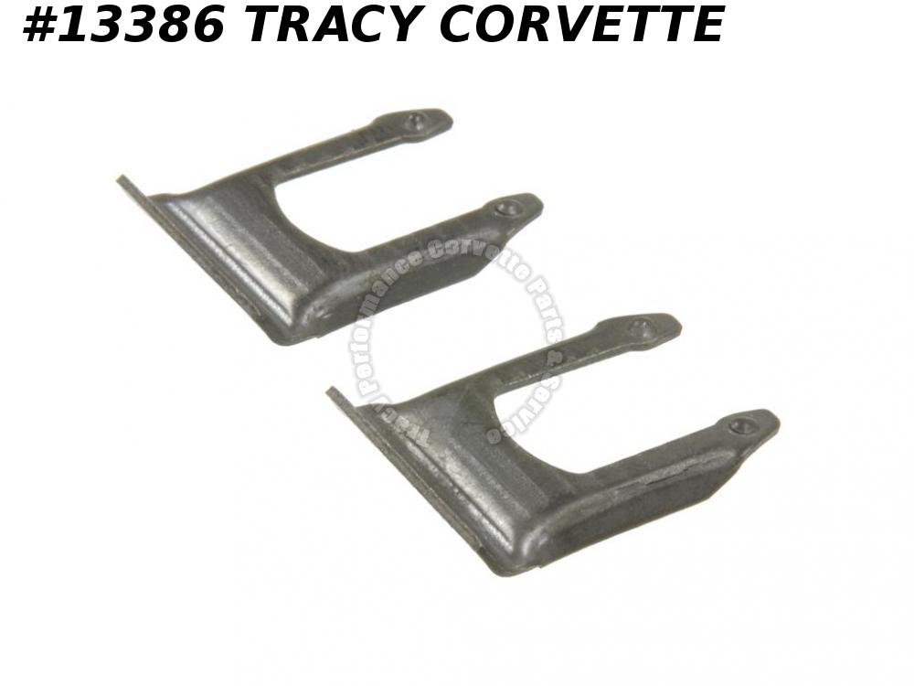 1956-1966 Corvette Parking Emergency Brake Cable Clip U-clip Set Of 2 GM# 516213