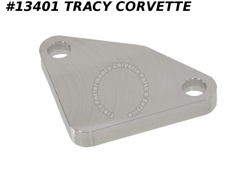 1975-1984 Chevrolet 350 Corvette EGR Block Off Plate Billet Aluminum