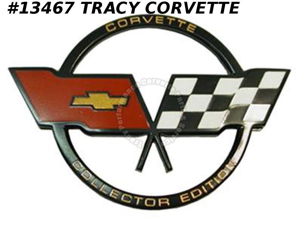 1982 Corvette Gas Door Emblem - Collectors Edition GM# 14042291