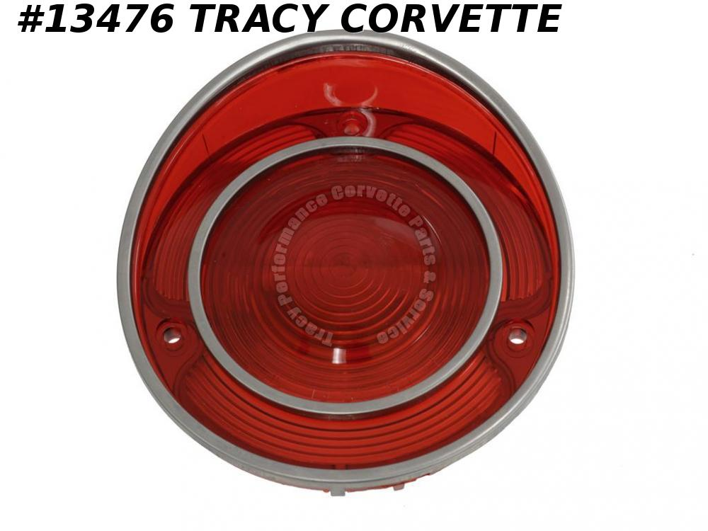 1971-1973 Corvette Tail Light Lens GM#5963332 5963342 - Original GM Tooling 1972