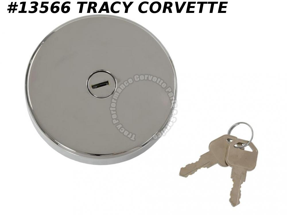 1970-1974 Corvette Locking Gas Cap - Non Vented  GM# 994179