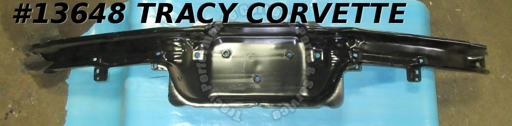 1975-1979 Corvette Front Bumper Reinforcement Impact Bar Fascia Cover Support