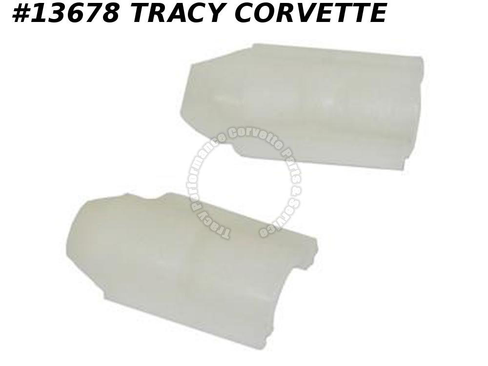 1979-1982 Corvette Sunvisor Plastic Pivot Bushing Left Hand Tele Upper And Lower