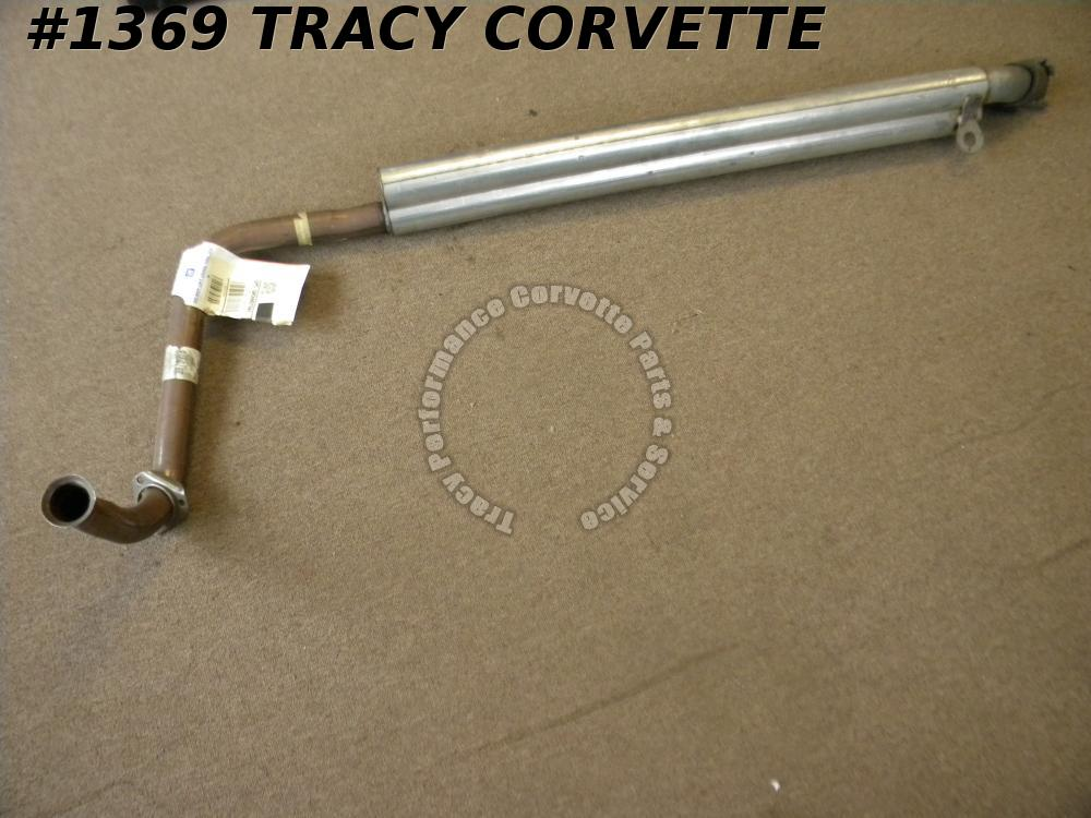 1969 Corvette GM NOS 3979478 RH SB Side Exhaust Pipe Also fits 68-82 SB SE Cars