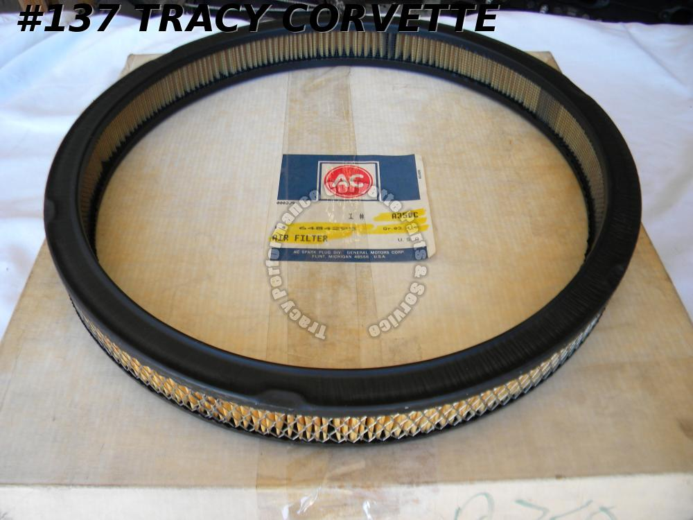 1960-1962 Corvette A350C Air Filter 1961 / 1965-1967 GTO NOS GM# 6484295 1966