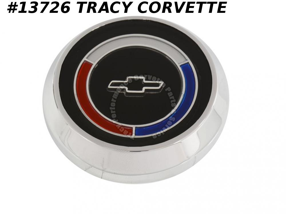 1965-1966 Corvette Tele Horn Button GM# 3883627