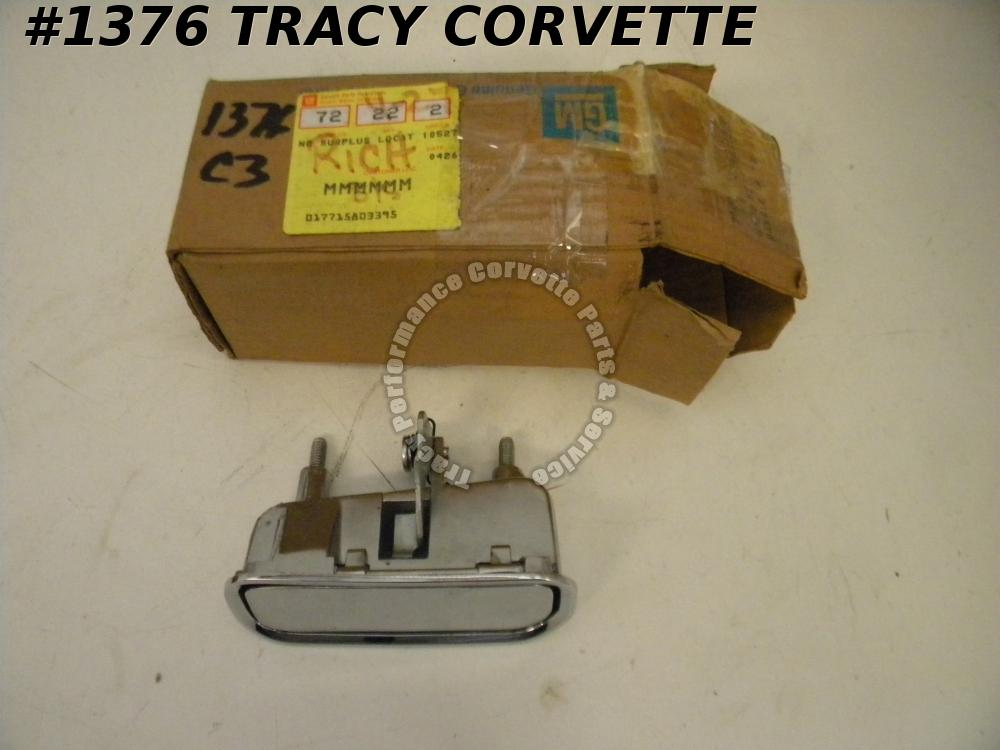 1969-1982 Corvette NOS 14011820 RH Outside Door Handle 69 70 71 72 73 74 75-82