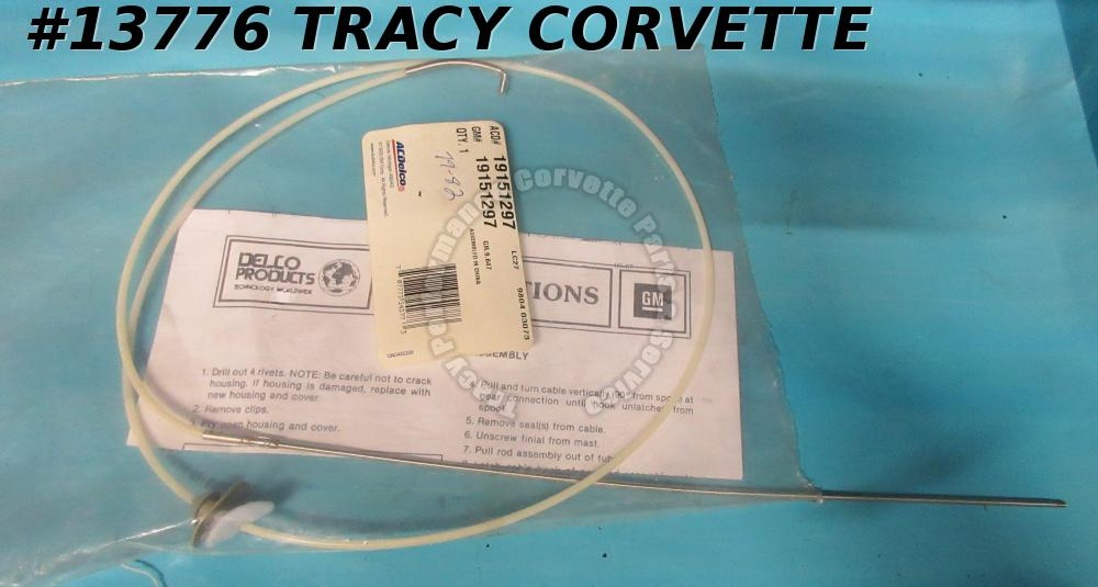 1979-1987 Corvette Power Antenna Mast Repair Kit (For Stock Antenna) GM#19151297