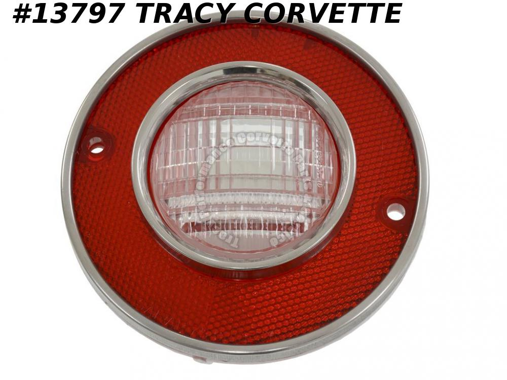 1975-1979 Corvette Tail Light Assembly - With Back-up Lamp GM# 912040